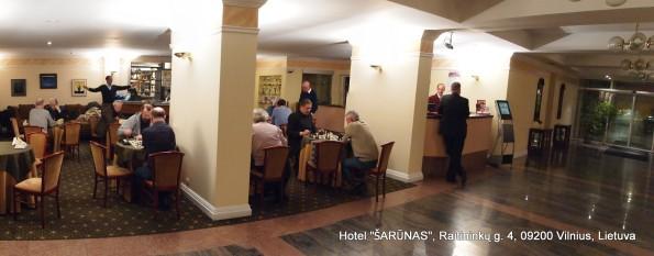 Vilniaus šachmatų klubas - atviros žaibo šachmatų varžybos kiekveną 2013 metų antradienį nuo 19.00 viešbutyje ŠARŪNAS (Vilnius, Raitininkų g.4)