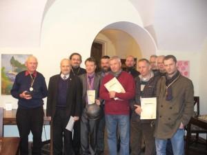 Vilniaus senamiesčio šachmatų čempionato dalyviai