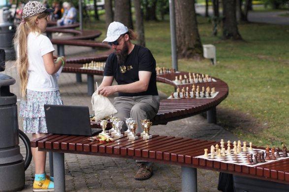 žaibo šachmatų varžybos DRUSKININKŲ vasaros taurė 2017; Darius Matonis