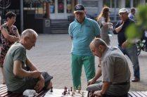 žaibo šachmatų varžybos DRUSKININKŲ vasaros taurė 2017; Sigitas Šipelis; Mark Magaril